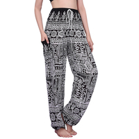 Harem Pants Women High Waist