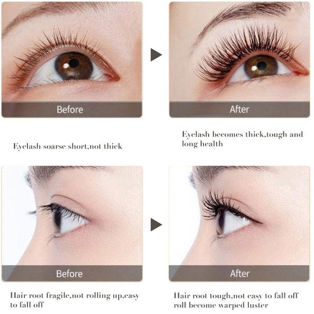 Eyelash Serum Growth Eyelash and Eyebrow Nourishing Essence Growth Eyelash Roots for Long and Thick and Lengthening Eye Lashes 2