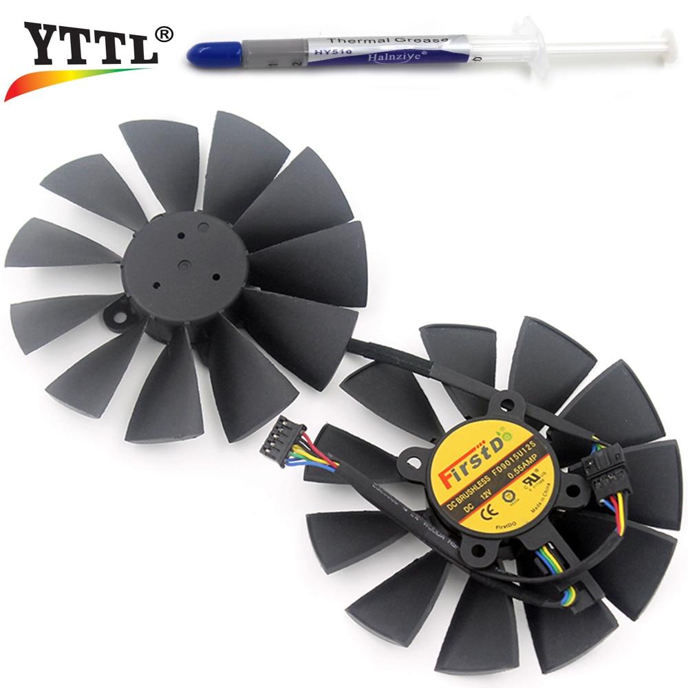 Здесь можно купить  A Pair New Firstd FD9015U12S DC 12V 0.55AMP 5Pin 5 Wire Cooling Fan For ASUS STRIX GTX970 980 780 STRIX-R9285 4G Graphics Card A Pair New Firstd FD9015U12S DC 12V 0.55AMP 5Pin 5 Wire Cooling Fan For ASUS STRIX GTX970 980 780 STRIX-R9285 4G Graphics Card Компьютер & сеть