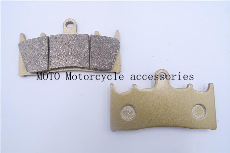 Front Motorcycle Brake Pads For SUZUKI GSXR 1000 K1/K2 01-02 GSXR 750 T/V/W/X 96-99 GSX 1400 K1/K2/K3/K4/K5/K6/K7/FE 01-07  motorcycle front and rear brake pads for suzuki gsx 1400 gsx1400 k1 k2 k3 k4 k5 k6 k7 fe 2001 2007 black brake disc pad