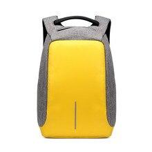 Противоугонная USB зарядки мужские рюкзаки модные мужские Mochila случайный рюкзак путешествия женщин ноутбука рюкзак мешок школы для подростка