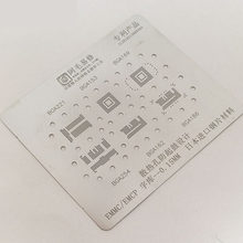 FEORLO BGA Reballing Stencil Template For BGA153/162/169/186/221 EMCP/EMMC fix repair tools(China)