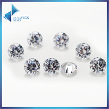 Фотография 1mm 1.25mm 1.5mm brilliant round cut white cubic zirconia