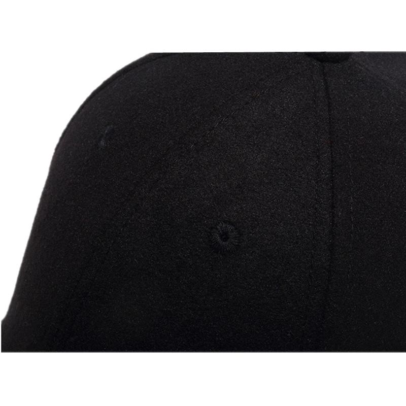 black trucker hat 11