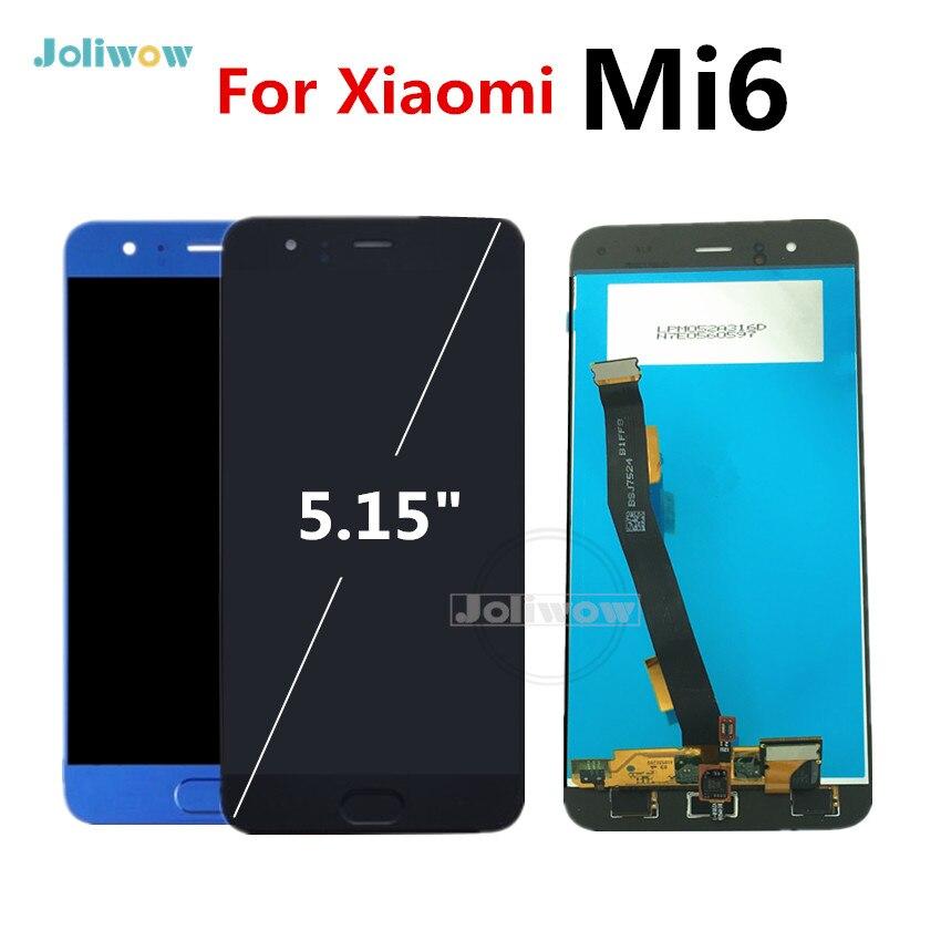 Nouveau pour Xiao mi 6 LCD écran tactile numériseur assemblée 1920x1080 FHD avec empreinte digitale pour XIAO mi mi 6 LCD