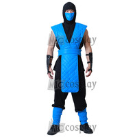 Sub Zero Cosplay Costume Mortal Kombat Full Set For Men