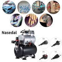 Nasedal NT02 Airbrush compressor pistola de pintura aerografo spray gun air brush airbrush with compressor pistolet peinture