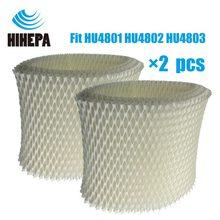 2 шт. OEM HU4102 бактерии и весы увлажнитель фильтры для Philips HU4801 HU4802 HU4803 HU4811 HU4813 увлажнители воздуха
