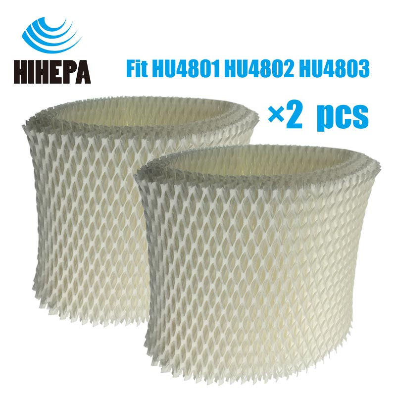 2-pcs Original OEM HU4102 Bacteria & Scale Humidifier Filters For Philips HU4801 HU4802 HU4803 HU4811 HU4813 Humidifier Parts