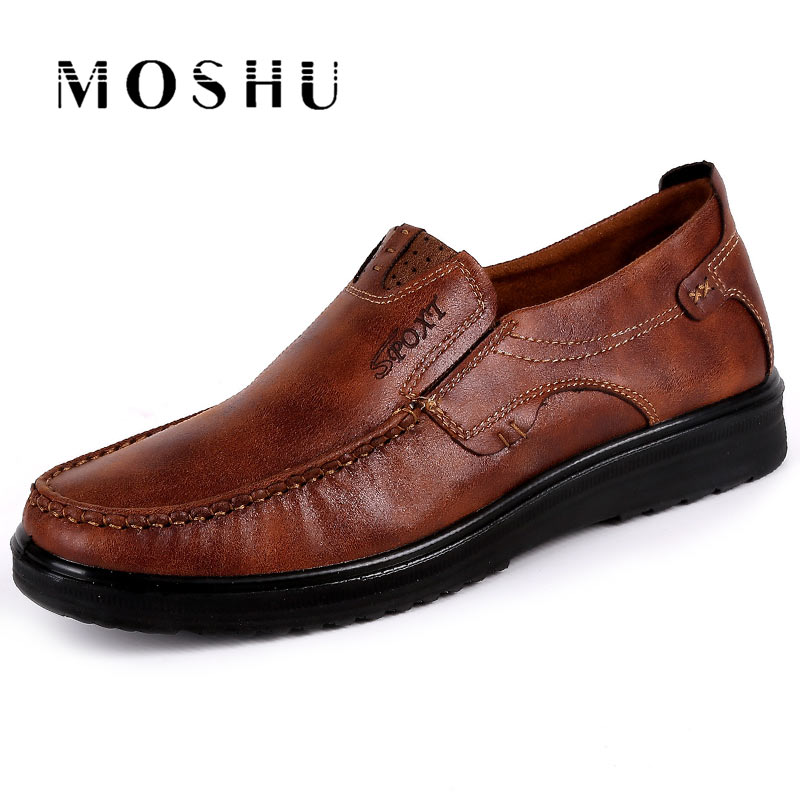 Men Casual Flats Shoes Summer Breathable Casual Shoes Men Loafers Slip On Chaussure Homme Plus Size 38-47 Brown Black 2017new men casual shoes elastic breathable massage flats shoes spring summer men s flats men sapatos chaussure homme masculinos