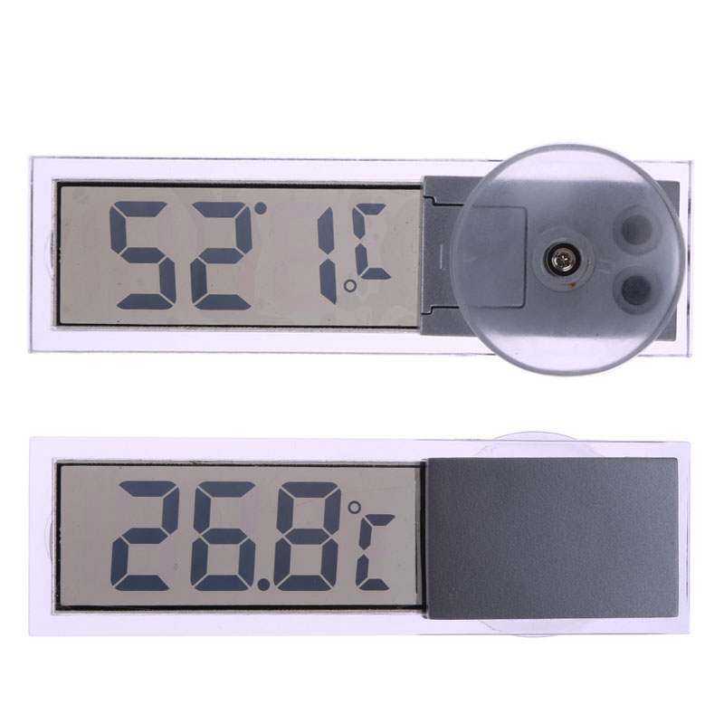 New Car Thermometer Osculum Type LCD Vehicle mounted Digital Thermometer Celsius Fahrenheit For Car Digital Thermometer