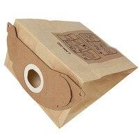 Vacuum Dust Filter Paper Bag For KARCHER WD2250 A2004 A2054 MV2 Efficient Dust Collection Bags 10pcs