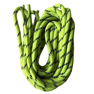 Круглые шнурки для ботинок шнурки с точками 47 дюймов-63 дюйма - Цвет: neon green
