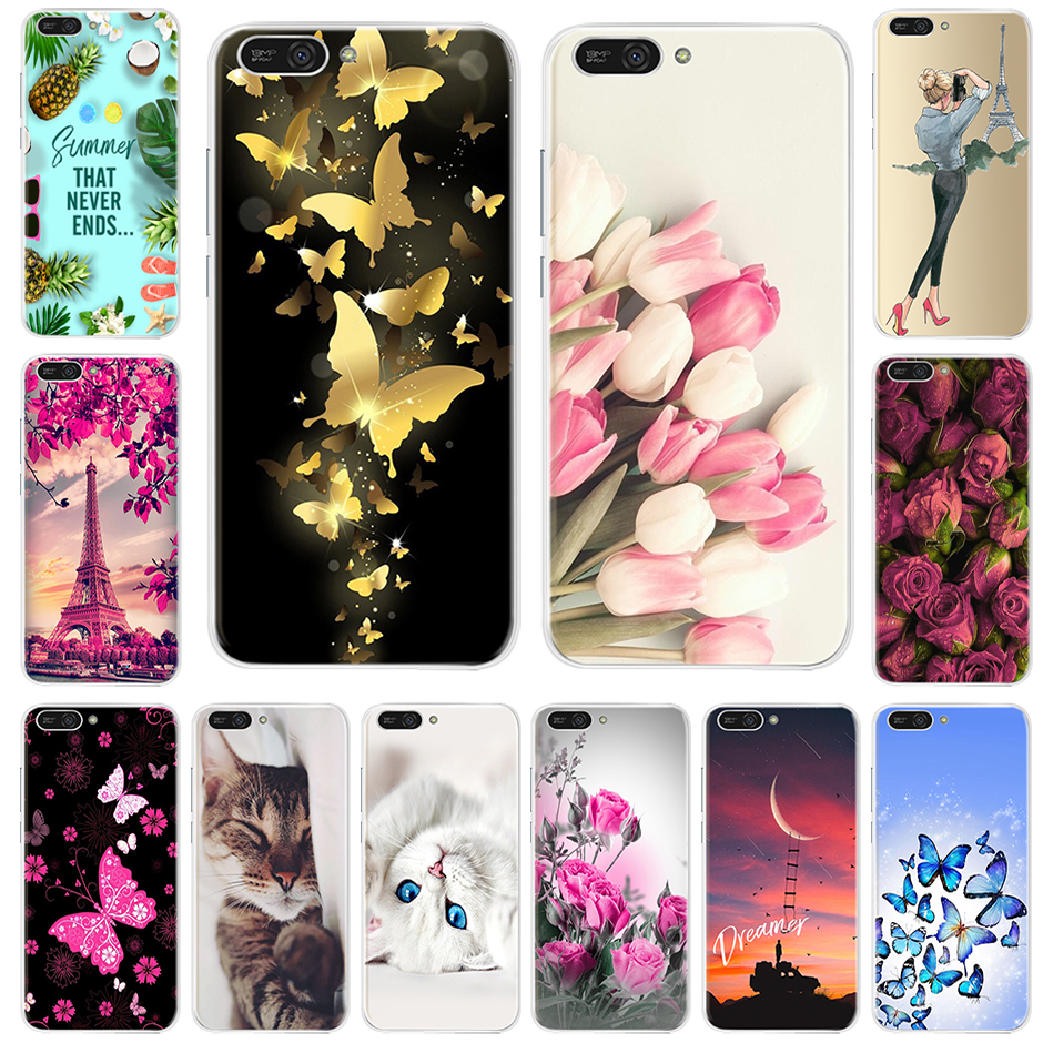Silicone Case For Huawei Y6 2018 Cover ATU-L21 Phone Case For Huawei Y6 Prime 2018 Case Cover For Huawei Y6 2018 Y 6 Prime