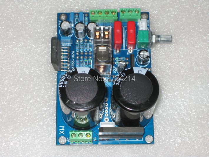 Genuine LM1876 30W + 30w power amplifier protection circuit board 2.0 stereo audio  -  Success Trading Co., Ltd. store