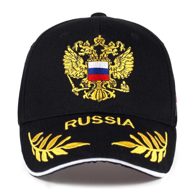 4c2c471289f Russia Baseball Cap Cotton Russian Emblem Embroidery Snapback ...