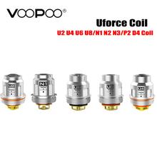 5 sztuk partia VOOPOO Uforce U2 U4 N1 N2 N3 P2 wymiana cewki dla Voopoo Uforce zbiornik Voopoo przeciągnij 2 zestaw Voopoo przeciągnij mini zestaw tanie tanio Cthulhu VOOPOO Uforce Coil VOOPOO Uforce Tank DS Dual piece 0 15kg (0 33lb ) 10cm x 9cm x 8cm (3 94in x 3 54in x 3 15in)