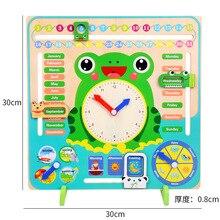 Baby Weather Season Calendar Clock Time Cognition