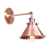 Amerikanischen Einzel kopf Einstellen Nacht Wand Lampe Edison Loft Eisen Wand Leuchte Industrie Vintage FÜHRTE Wand Licht Lamparas Pared|LED-Innenwandleuchten|   -