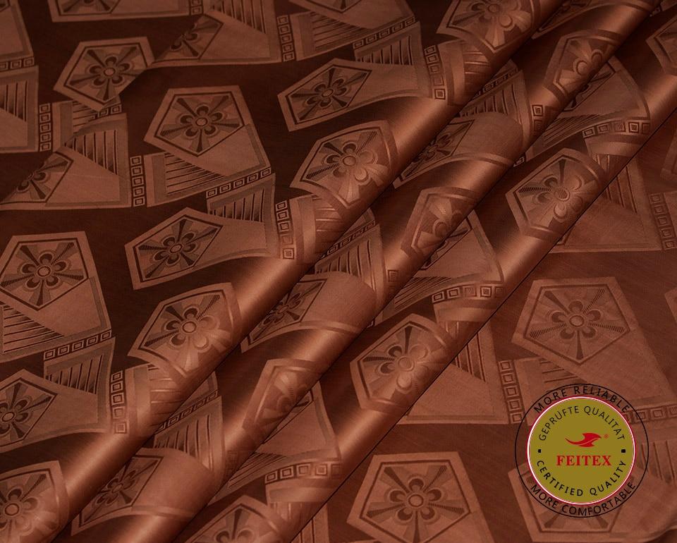 Գվինեայի բրոկադային գործվածքներ, (նմանատիպ Getzner դիզայնի) Bazin Riche Fabric 10Yard / հատ, Սենեգալի հագուստի Աֆրիկա Jacquard Cotton Feitex