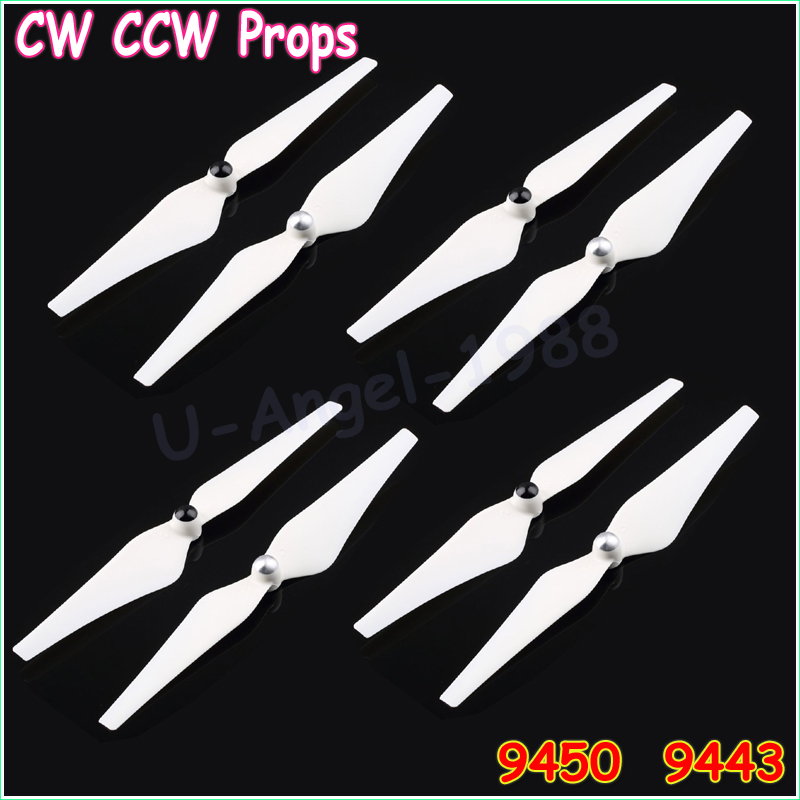 8pcs Drone Replacement Spare Parts 9450 9443 9.4 inch Self-locking Enhanced Propeller Prop for  Phantom 2 3 Vision/E30(4pair)
