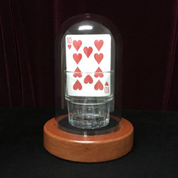 Horizontal Card Rise Chose the Selected Card Magic Tricks For Magician Stage Illusion Gimmick Props Comedy Mentalism