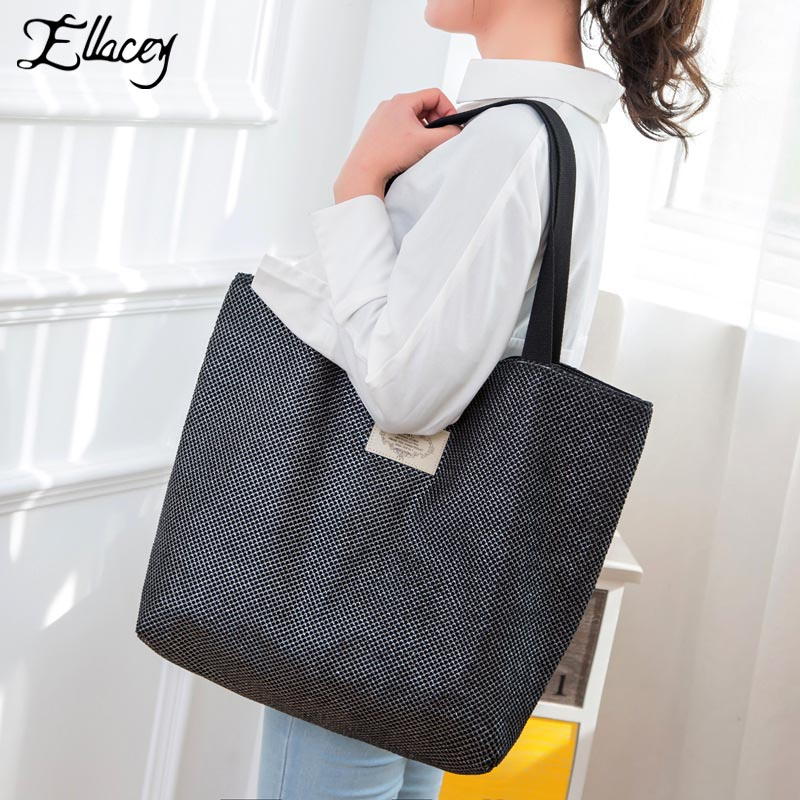 New 2017 Lace Canvas Bag Casual Tote Bags For Women Designer Large Shopping Handbags Fashion Lady Elegant Lace Shoulder Bags цена 2016