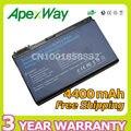 Apexway 4400 mah batería para acer travelmate 5310 5320 5520 5520g 5720 5720G 7520 7720G 5710 5730 6410 6413 6414 6460 serie