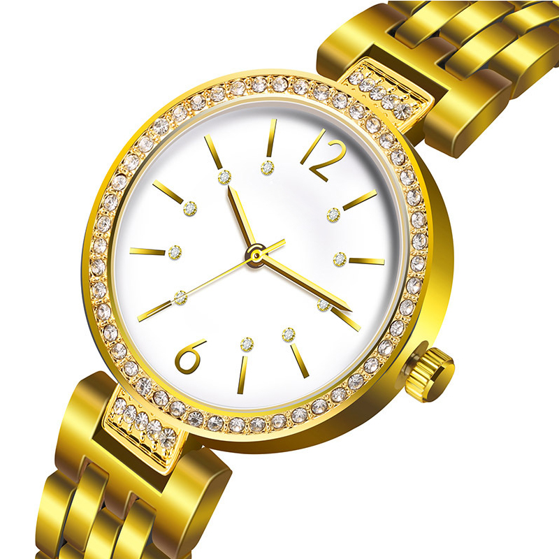 Fashion Women Watch Quartz Watches Luxury Diamond Wristwatch Casual Stainless Steel Wrist Watches Waterproof Relogio feminino watch women luxury brand lady crystal fashion rose gold quartz wrist watches female stainless steel wristwatch relogio feminino