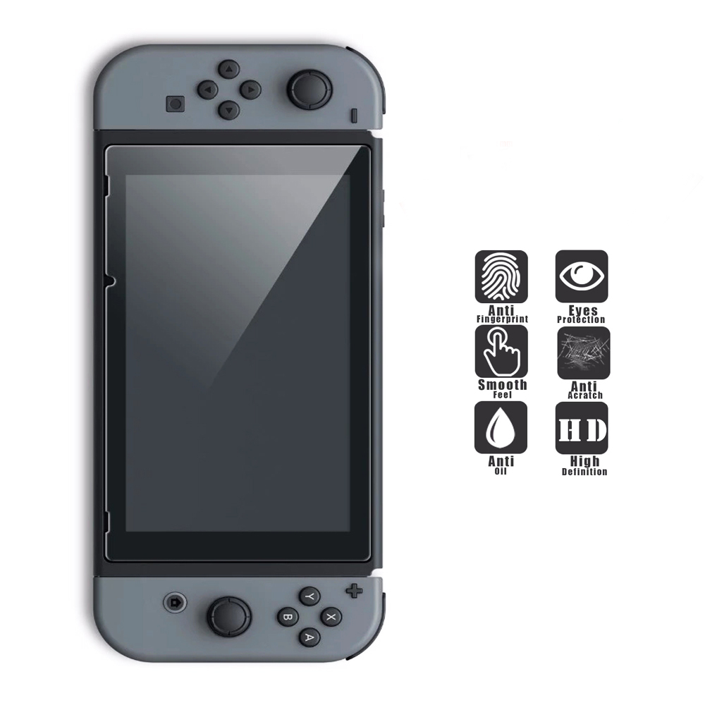 6 in 1 Kit Hard Case Storage Bag for Nintend Switch NS Console&Tempered Glass Screen Protector&TPU Protective Case&Analog caps  5