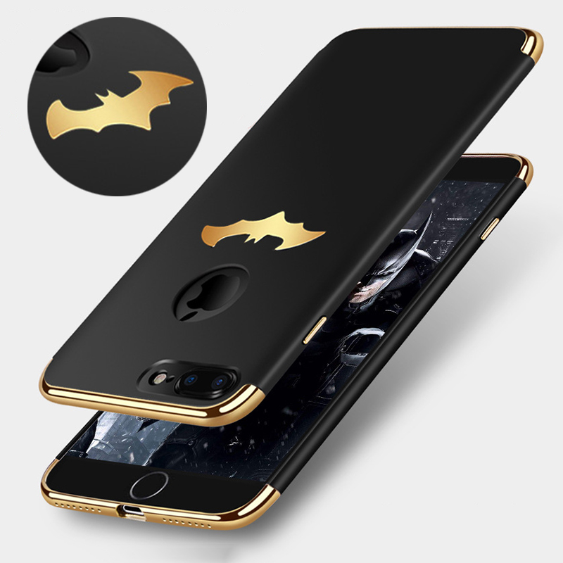 Luxury Plating Case For iPhone 7 7 Plus / 8 / 8 Plus Coque Protective PC Hard Phone Case For iPhone X / 5S/ SE /6S /6 Plus Cover