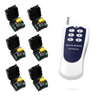 AC 220V 1CH Universal Wireless Remote Switch Wireless Remote Control ON OFF 1 CH Relay Module