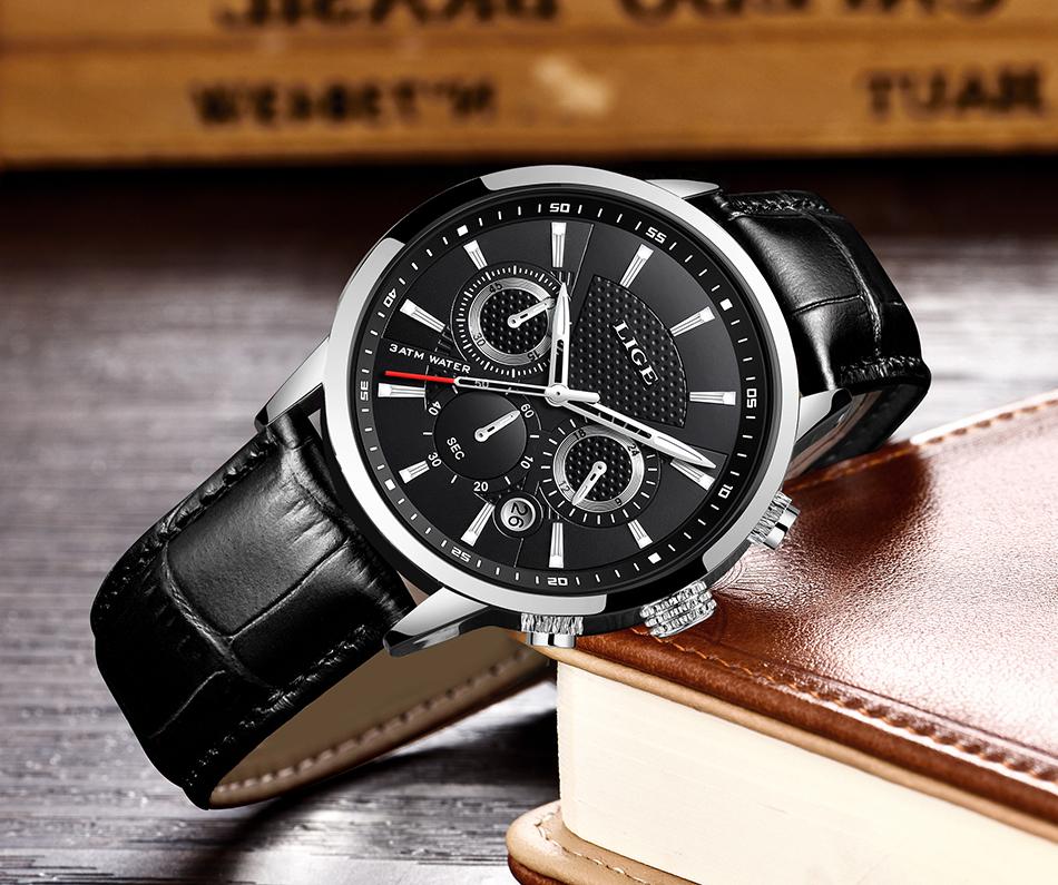 Reloj LIGE deportivo de moda 21
