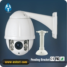2017 100% Metal Hot Surveillance PTZ Camera Sony CCD 700 TVLAnalog IR High Speed Dome Camera 10X Zoom Mini PTZ Camera IP66