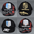 Attack On Titan Cap Japanese Anime Hats Trucker Mesh Baseball Cap Snapback For Men Women