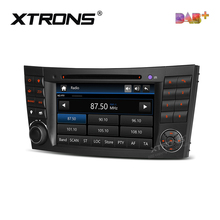 "7 ""DAB + Radyo Araba DVD Oynatıcı GPS Mercedes Benz E-Class W211 Için E200 E220 E240 E270 E280 CLS Class W219 CLS-350 CLS-500 CLS-55"