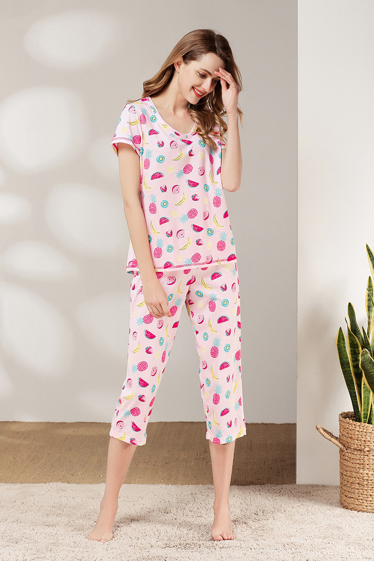 Free shipping.Brand casual summer women thin Sleep Pajamas set,sleeping home cotton plus size femme clothing sales soft gift