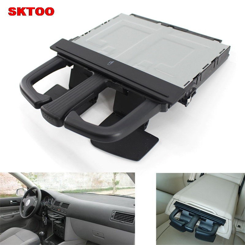 Black Front Folding Cup Drink Holder Stretch Dash Cup Holder For VW Volkswagen Golf 4 MK4 Jetta Mk4 Bora OEM 8P0 885 995 B