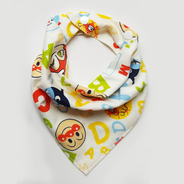Baby bibs cotton Bandana Bibs Baby Babador Feeding Smock Infant Burp Cloths Saliva Towel Baby Eating Accessory Soft Baby Stuff