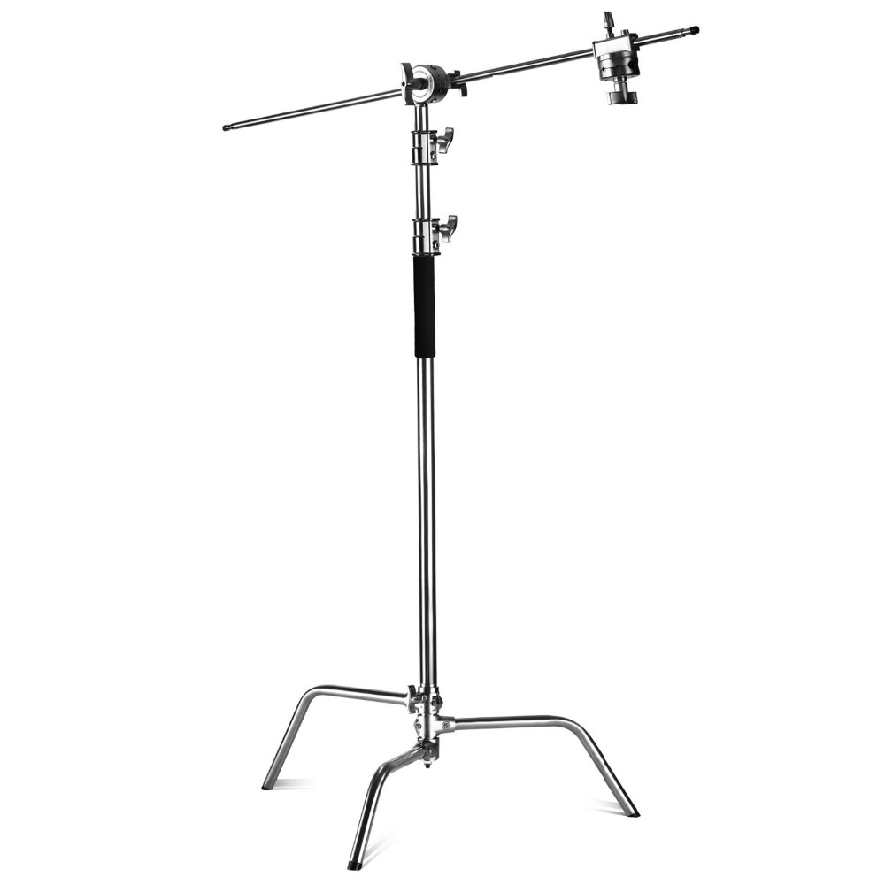 Neewer Pro 100% Metal Max Height 10ft/305cm Adjustable Reflector Stand+4ft/120cm Holding Arm+2 Pieces Grip Head for Photography икона янтарная богородица скоропослушница кян 2 305