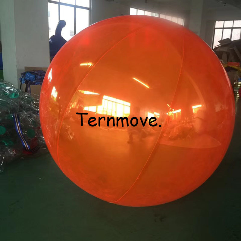 inflatable hanging balloon for Concert party decoration/exhibition/events show Window decoration orange pvc ball
