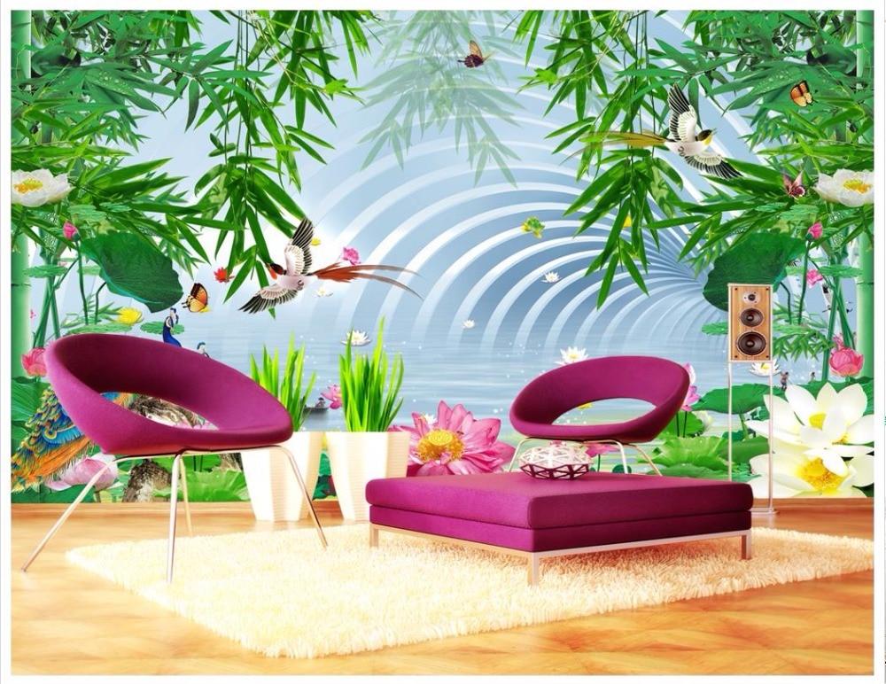3D wall murals wallpaper custom photo wallpaper mural 3D Chinese