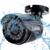 Gadinan 1.3mp ahd câmera à prova d' água ao ar livre da câmera de segurança noite visionbullet 3.6mm lente fixa de plástico shell cctv ahd câmara