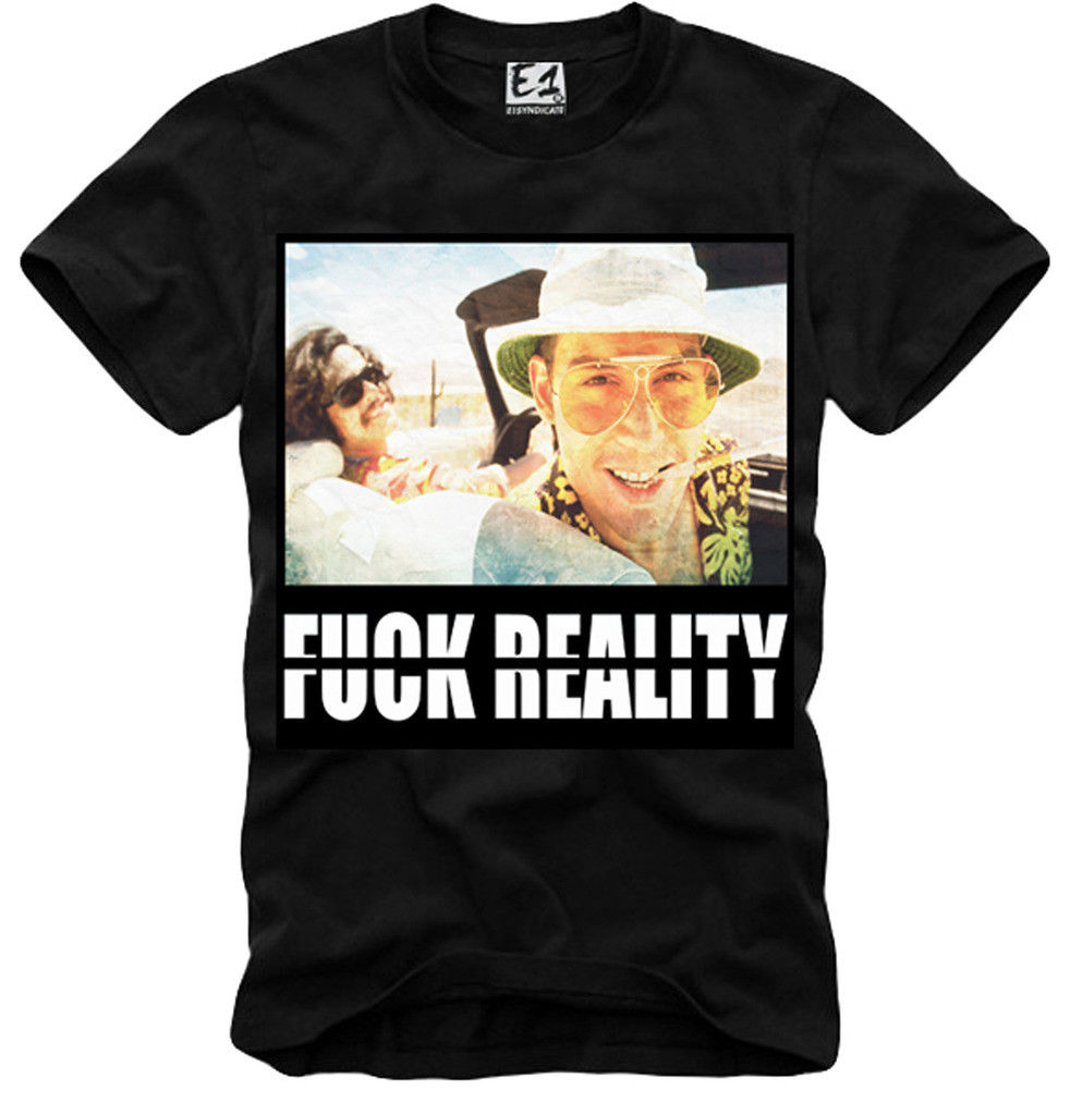 Newest 2018 T SHIRT FEAR AND LOATHING IN LAS VEGAS F.K REALITY LSD DMT 3074b T-Shirt men ...