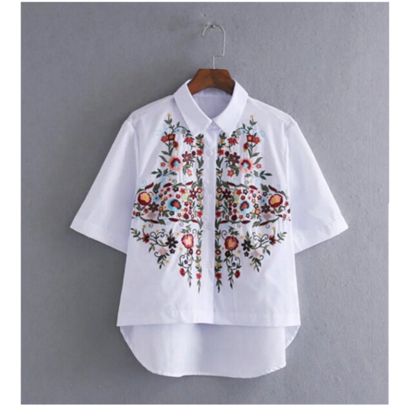 Aliexpress buy vintage white print colored flower