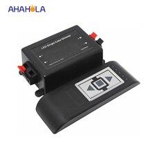 3 key rf wireless 12v led dimmer controller for 3528 5050 single color 12v led strip light 12v 96w/24v 192w