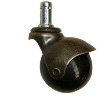 2Pieces/Lot Diameter:48mm  Retro Bronze Spherical Ball Universal Wheel Caster