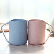 Creative wheat straw cups couple personality Coffee Mugs Tea cup Water Bottle Home Office Tableware Tools Irregular  Cups