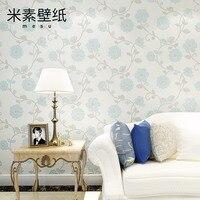 Rice Garden Style Wallpaper Warm Bedroom Wallpaper Wallpaper Wall Paper Wallpaper 3D Living Room Jasmine