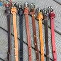2016 Nuevas Mujeres de la Buena Calidad de Cuero Genuino Cinturón Fino Cinturón de Cintura Fina Correas Estrechas del Zurriago Cinturones de Diseño Todo-Fósforo PB281